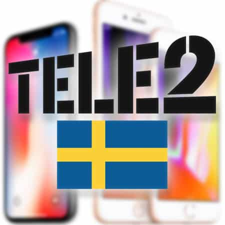 unlock tele2 sweden iphone