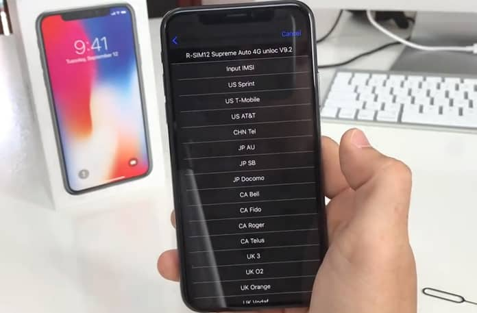 unlock iphone 8 with rsim