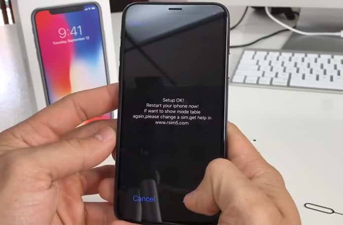 iphone x unlock sim